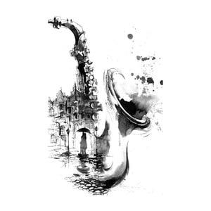 Obraz Black&White Nostalgic, 45x70 cm