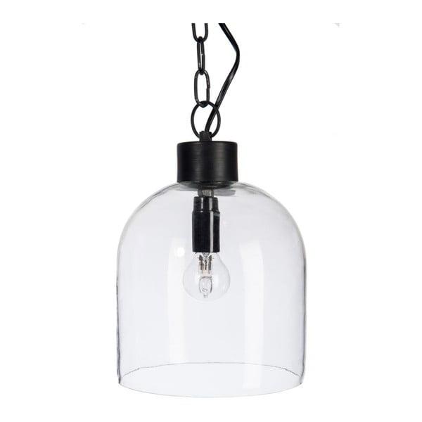 Żyrandol Glass Minimal Black, 19x19x18 cm