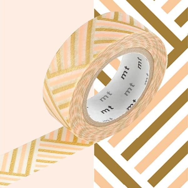 Taśma dekoracyjna washi Rayé Tresssage