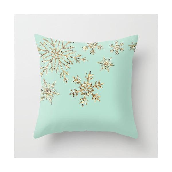 Poduszka Snowflakes Blue, 45x45 cm