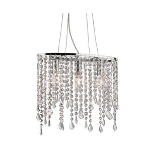 Lampa wisząca Evergreen Lights Chandelier Chrome