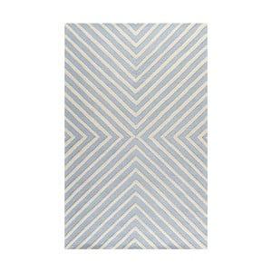 Wełniany dywan Prita Light Blue, 152x243 cm