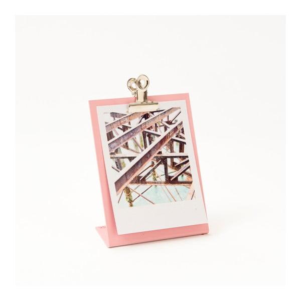Różowa ramka na zdjęcia Clipboard Small