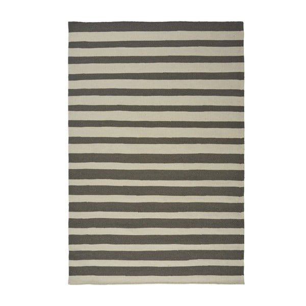 Wełniany dywan Toya Grey, 160x230 cm