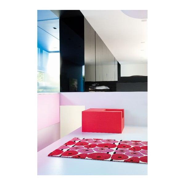 Wełniany dywan Avocadis, 80x80 cm
