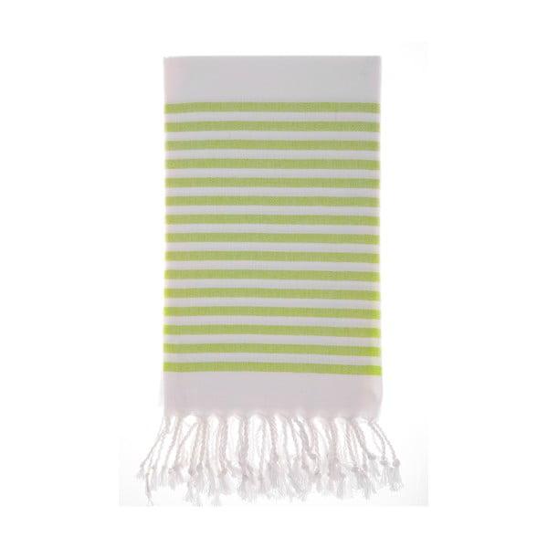 Ręcznik hammam Efes Green, 100x180 cm