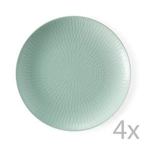 Zestaw 4 talerzyków deserowych Granaglie Eau, 21 cm