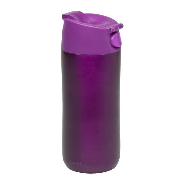 Kubek nierdzewny termiczny Flip & Sip 350 ml, fioletowy