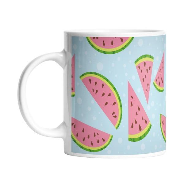 Kubek ceramiczny Yummy Watermelon, 330 ml