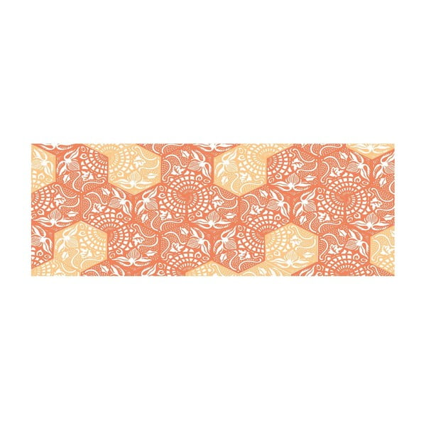 Winylowy dywan Cocina Paseo Naranja, 50x100 cm
