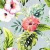 Pościel Ferns Pink, 200x200 cm