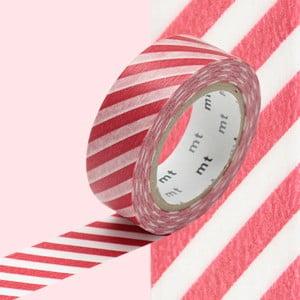 Taśma dekoracyjna washi Stripe Vermilion