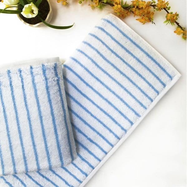 Ręcznik Live Blue, 50x90 cm