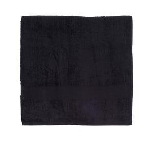 Czarny ręcznik frotte Walra Frottier, 90x170cm