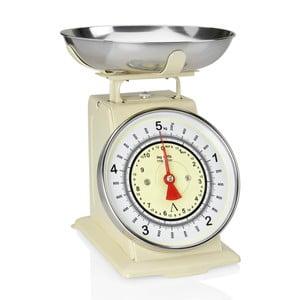 Beżowa waga kuchenna Andrea House Scale, 5 kg