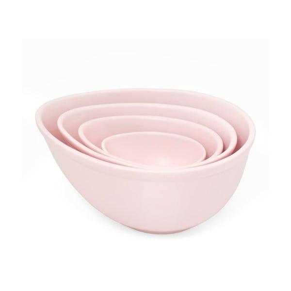 Zestaw 4 misek Pink