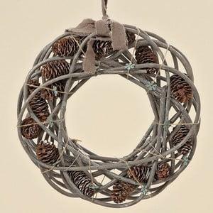 Wieniec dekoracyjny Cones, 35 cm