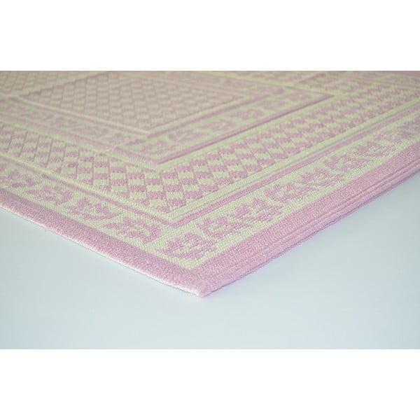 Liliowy wytrzymały dywan Olivia, 120x180 cm