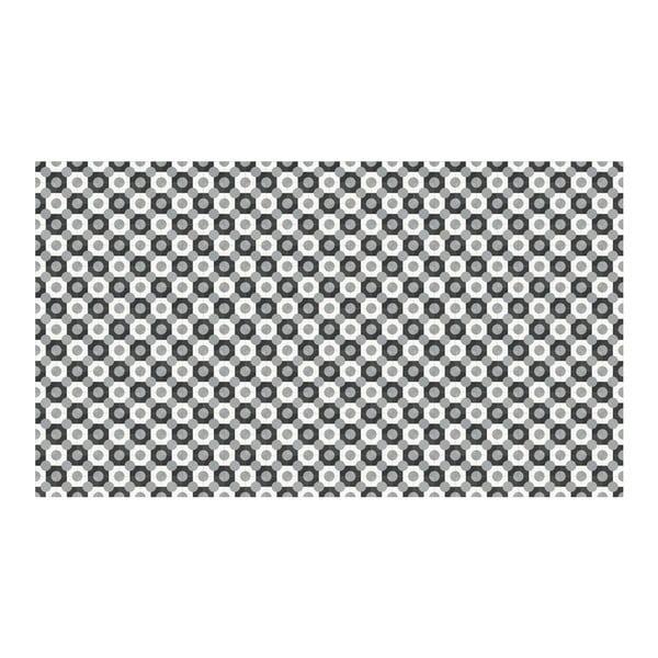 Dywan winylowy Dalia Grey, 52x140 cm