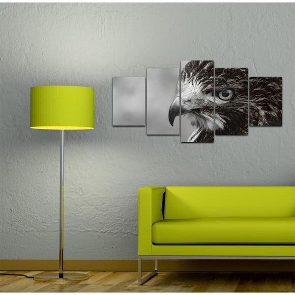 Wieloczęściowy obraz Black&White no. 100, 100x50 cm