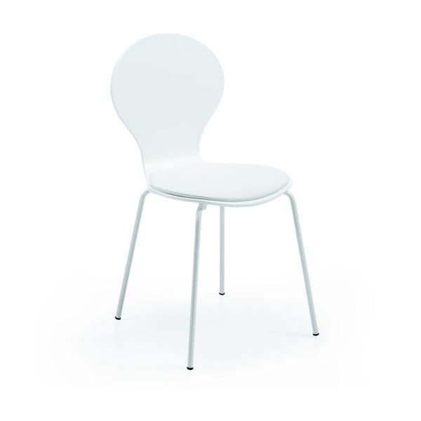 Krzesło Jazz, białe