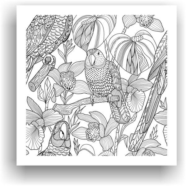 Obraz do kolorowania 32, 50x50 cm
