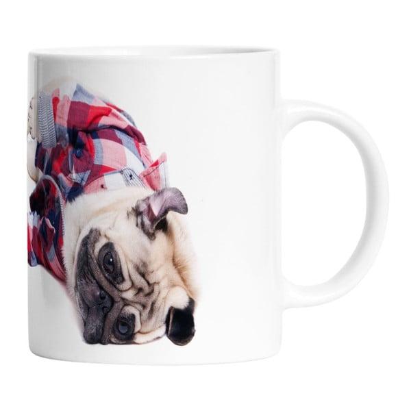 Ceramiczny kubek Sleppy Pug, 330 ml