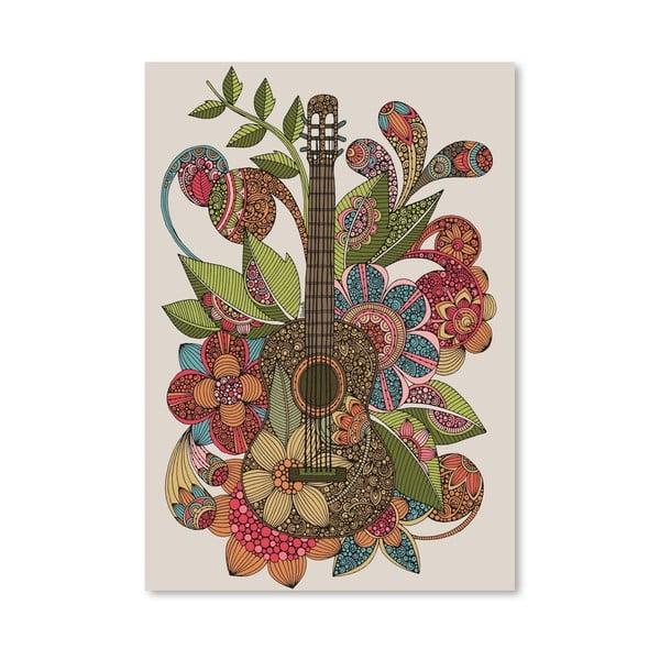 """Plakat """"Ever Guitar"""", Valentina Ramos"""