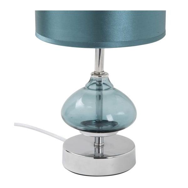 Lampa stołowa Comodino Aqua, 32,5x15x15 cm