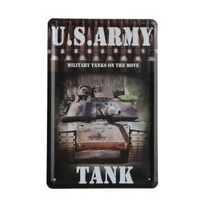Tablica US Army Tank, 15x21 cm