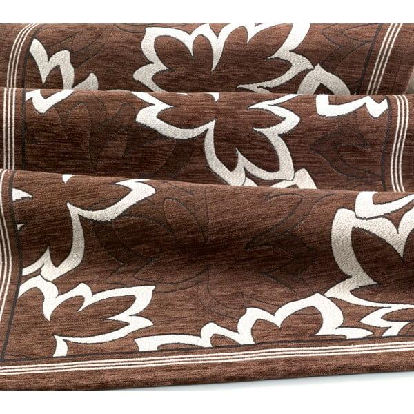 Wytrzymały dywan kuchenny Webtapetti Maple Marrone, 55x115 cm