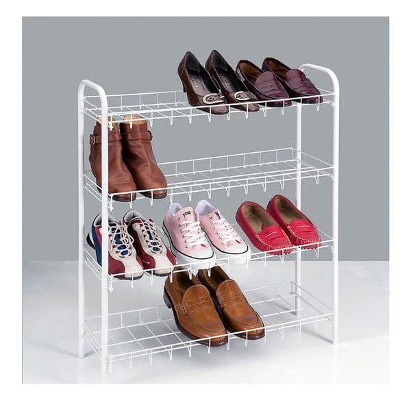 4-poziomowy regał na buty Metaltex Shoe Rack