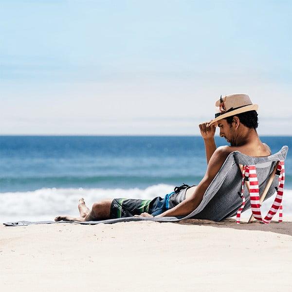 Leżak i ręcznik plażowy w jednym Sun Basalt