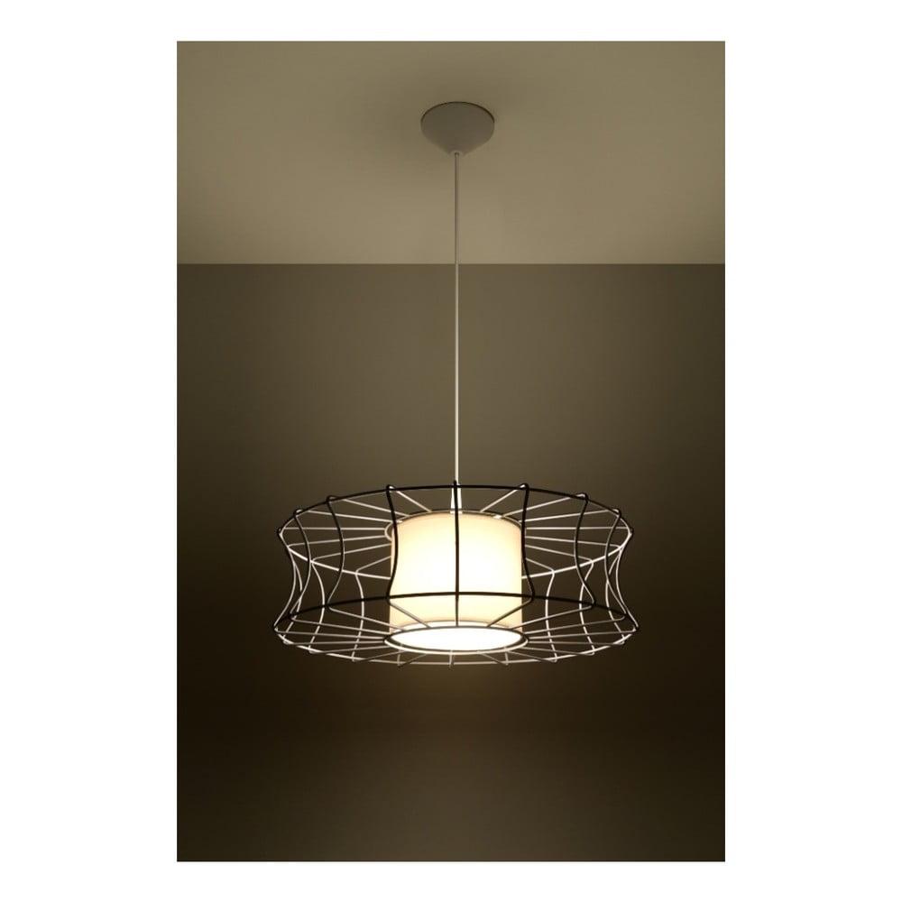 Biała lampa wisząca Nice Lamps Parla