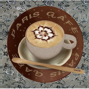 Obraz Paris Café, 28x28 cm