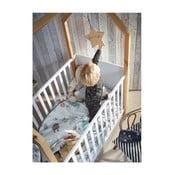 Drewniana gwiazda dekoracyjna BELLAMY Pinette