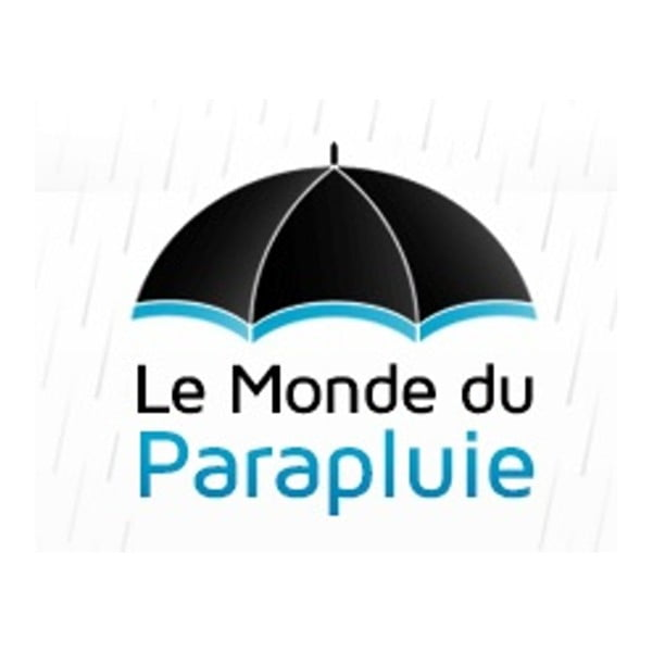 Czarny parasol dla 2 osób Pour Aux