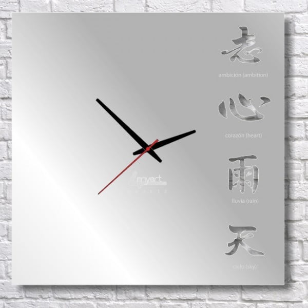 Zegar ścienny Kanji II