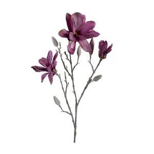 Sztuczny kwiat Magnolia, fioletowa