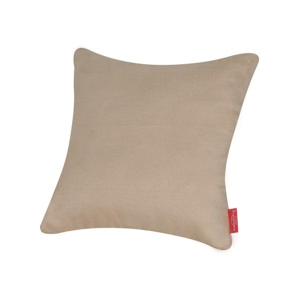 Poduszka z mikrowłókna Pillow 40x40 cm, beżowa