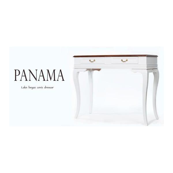 Konsolka Panama Walnut, 100x42x82 cm