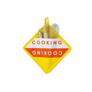 Łapka kuchenna Madlene, żółta
