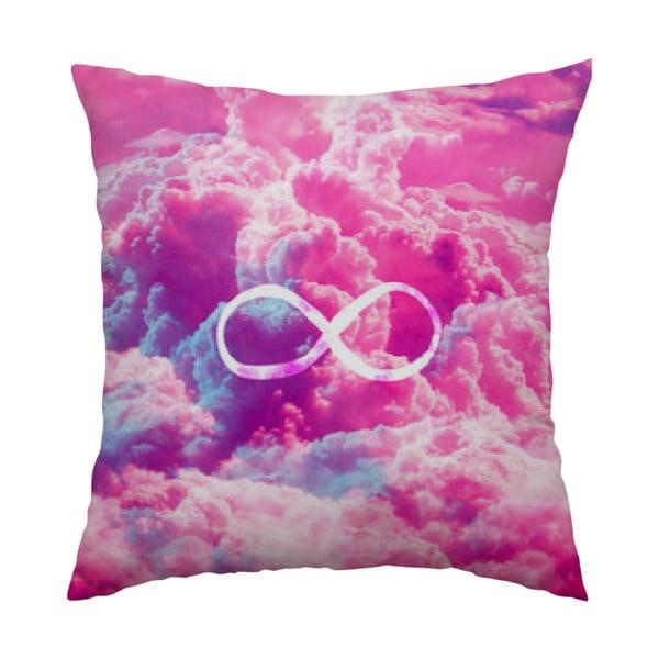 Poduszka Infinity Pink, 40x40 cm