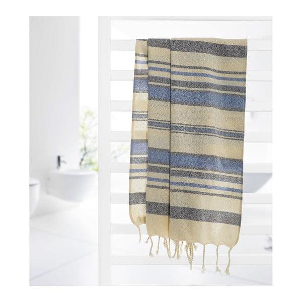 Ręcznik hammam Fancy Blue, 95x175 cm
