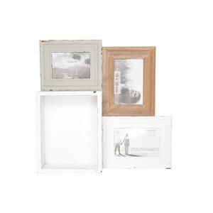 Półka z ramką na zdjęcie Tray In Wood, 41x40 cm