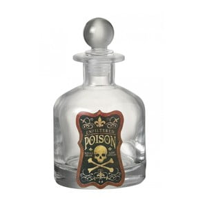 Szklana butelka Poison