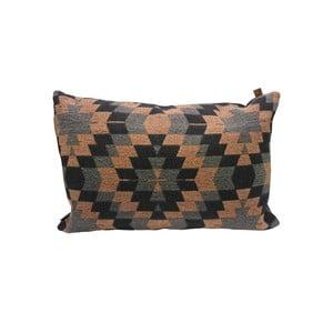 Poduszka Overseas Kelim Blush Anthracite, 60x40 cm