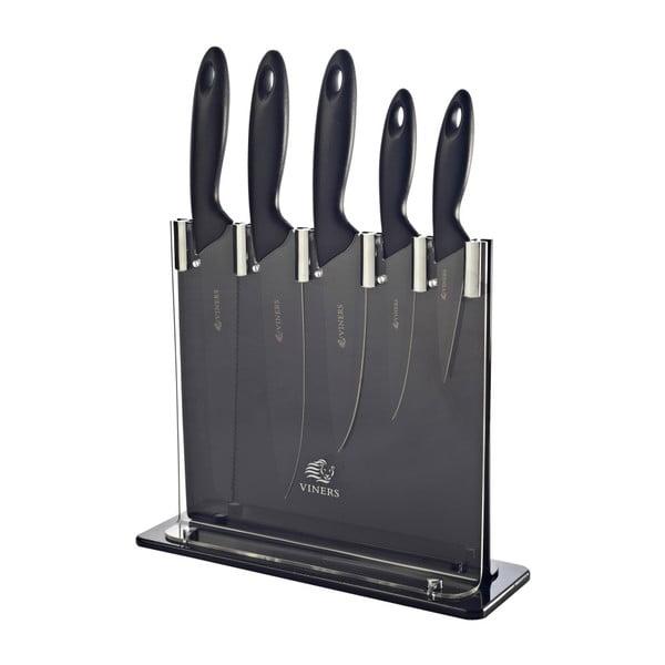 Zestaw   6 noży ze stojakiem Silhouette