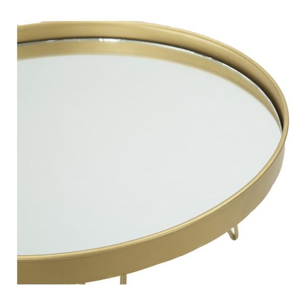 Podręczna taca do serwowania w złotym kolorze Mauro Ferretti, ⌀ 36,5 cm