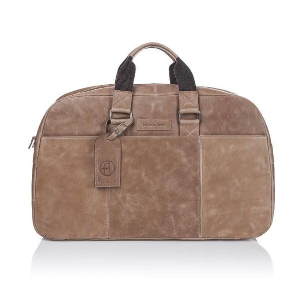 Męska torba skórzana Ferruccio Laconi 101 Grey